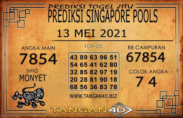 PREDIKSI TOGEL SINGAPORE TANGAN4D 13 MEI 2021