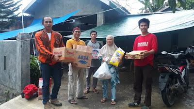 Pemuda Pancasila Soppeng Ikut Andil Peduli Kemanusiaan di Bencana Gempa Sulbar