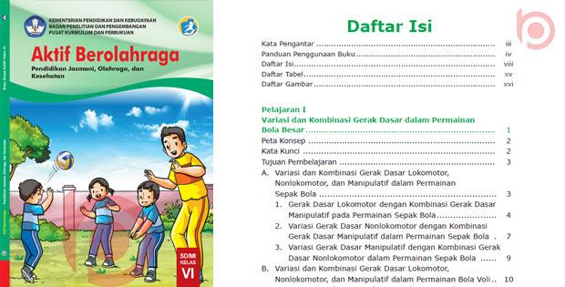 Materi PJOK Kelas 6 Kurikulum 2013 Revisi
