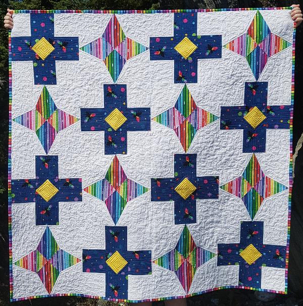 Level Up quilt pattern | DevotedQuilter.com