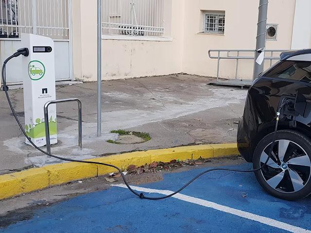 4 επιπλέον σταθμοί φόρτισης ηλεκτρικών οχημάτων για τις Περιφερειακές Ενότητες στην Πελοπόννησο