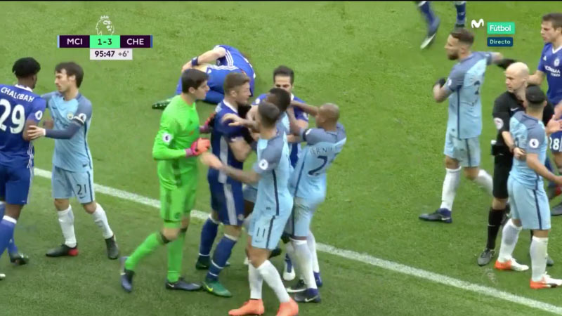 FA to deduct points from Chelsea over brutal fight during Man City match - UK Newspaper