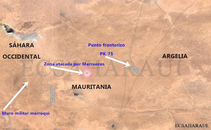 AMPLIACIÓN | Un ataque marroquí con proyectiles alcanza una zona civil fronteriza que da acceso a los campamentos de refugiados saharauis.