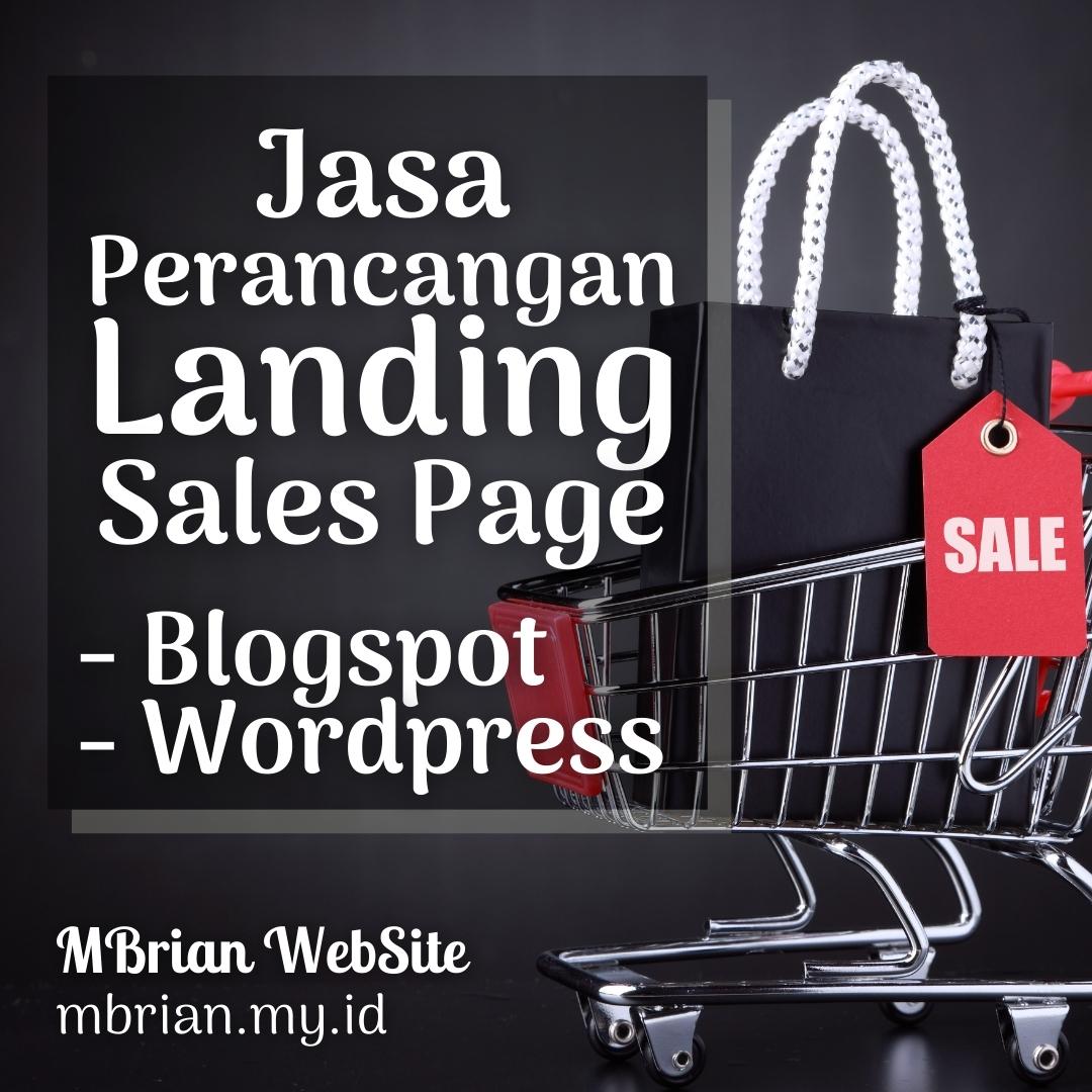 Jasa Perancangan Landingpage Salespage