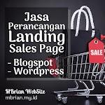 Jasa Perancangan Landingpage / Salespage