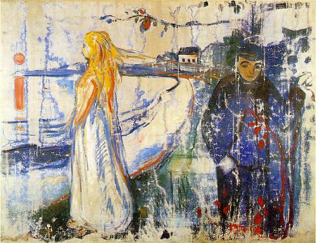 Эдвард Мунк - Разлука. 1894