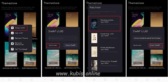 Cara Agar Tema Dan Font Berbayar Di Oppo Jadi Gratis + Gambar 100% Work