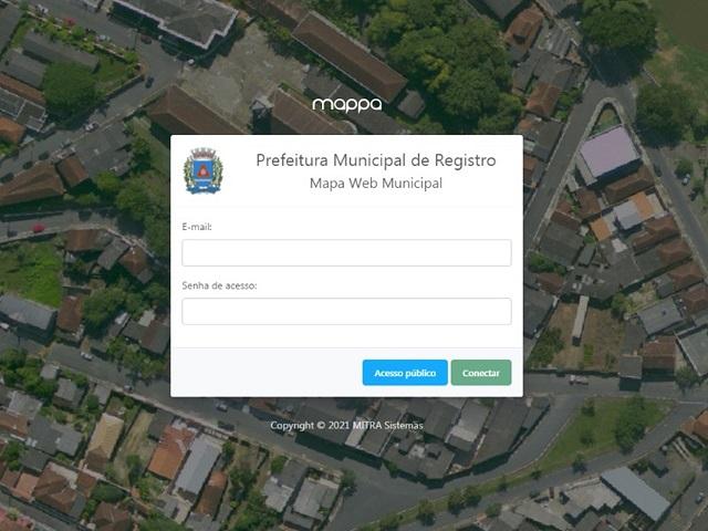 Registro-SP disponibiliza sistema de pesquisa e visualização online de mapas e imagens aéreas