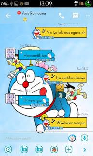 BBM Doraemon Versi 2.9.0.51 Apk