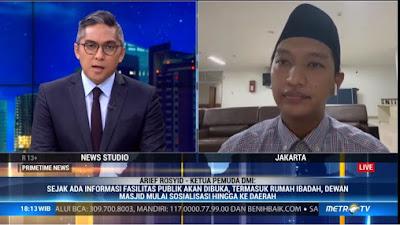 Dewan Masjid Sebut Perlu Kesadaran Kolektif Hadapi New Normal