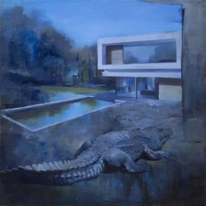 Британский художник. Andrew Beck