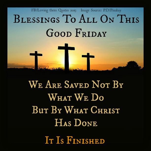 Good Friday blessed Bible