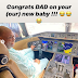 omg!!! you won't believe the amount Davido's father got his new Jet.