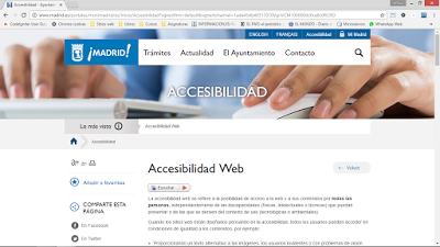 Portal web del Ayuntamiento de Madrid