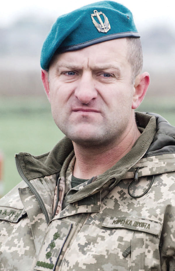 командир полковник Микола Палас