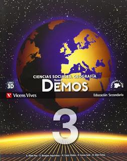 Libro Geografía e Historia 3º ESO Vicens Vives Proyecto Nuevo Demos