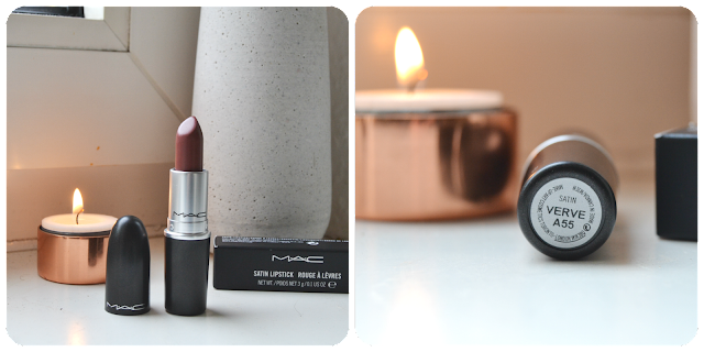 MAC, Mac Cosmetics, Lipstick, Verve, Satin, Swatch