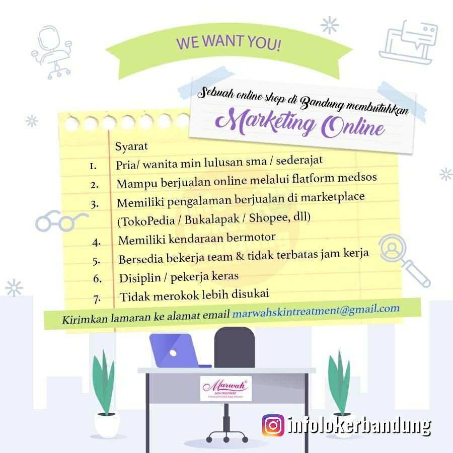 Lowongan Kerja Marwah Skin Treatment Bandung Agustus 2019