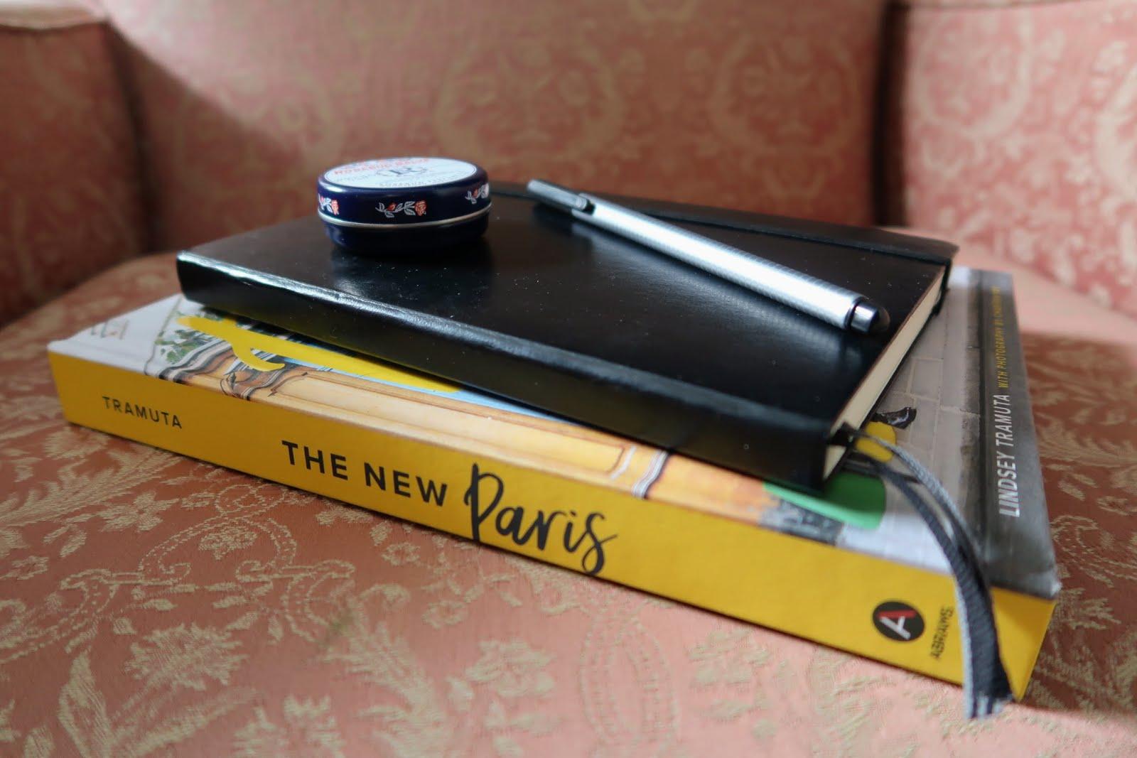 bullet journal plan planning notebook leuchtturm pink chair the new paris book