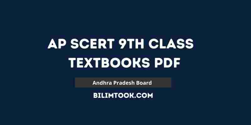 AP SCERT 9th Class Books PDF 2021