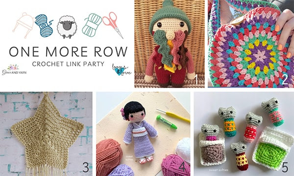 One More Row - Free Crochet Link Party #31