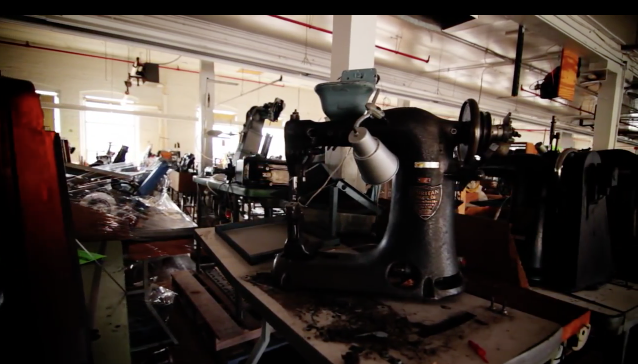 Puritan Sewing Machines in Red Wing factories