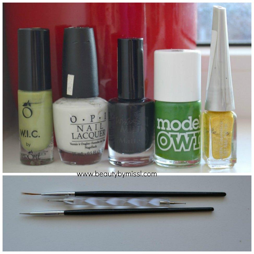 nail polishes,nail art brush, dotting tools