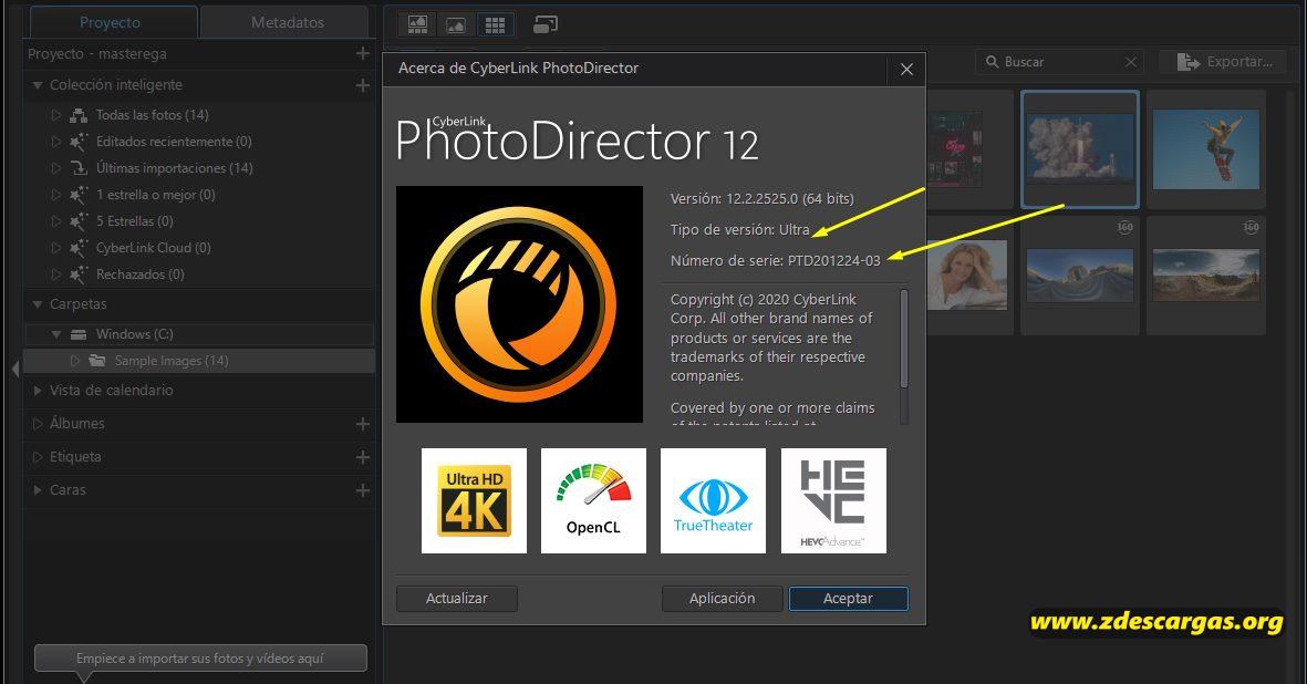 CyberLink PhotoDirector Ultra 2021 Full Español