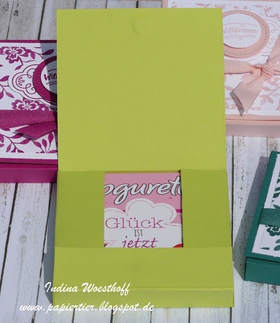 Gästegoodie | In-Colors 2017-19 | Stampin' Up! | papiertier Indina | Blog Hop | Verpackung