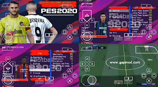 Download PES 2020 PPSSPP Lite Update Full Transfers & Kits 2021