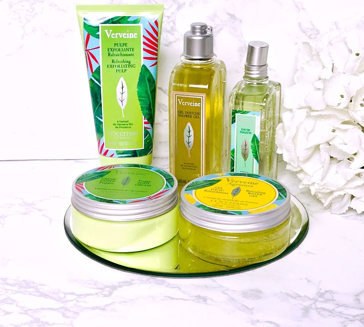 L'Occitane limited edition Verbena range Review