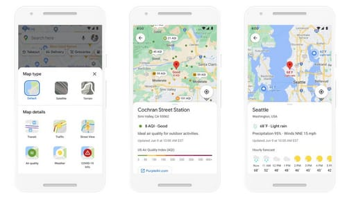 Google Maps adds augmented reality technology to the shopping center