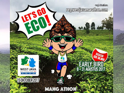 Pendaftaran West Java Eco Marathon 2017