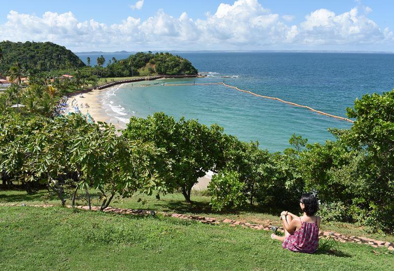 Praia da Ponta de Nossa Senhora de Guadalupe - Salvador