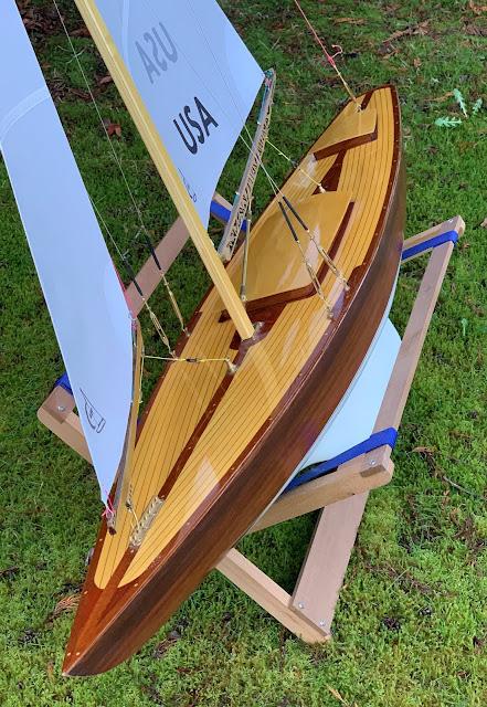 Wampum II Vintage Marblehead RC sailboat