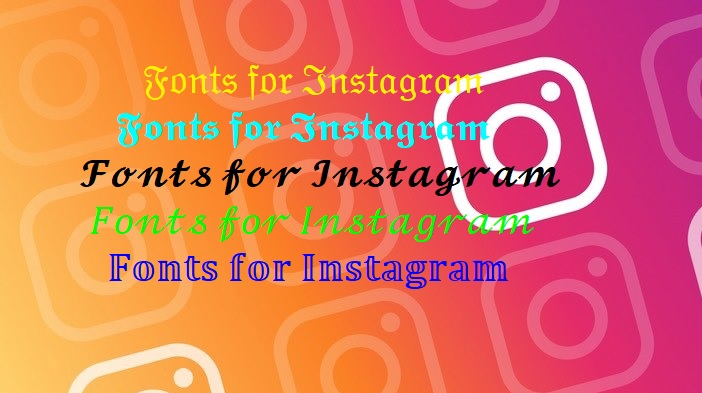 Copy and Paste Fonts for Instagram