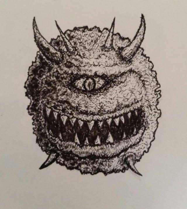 Cacodemon do Gruntus Porksly