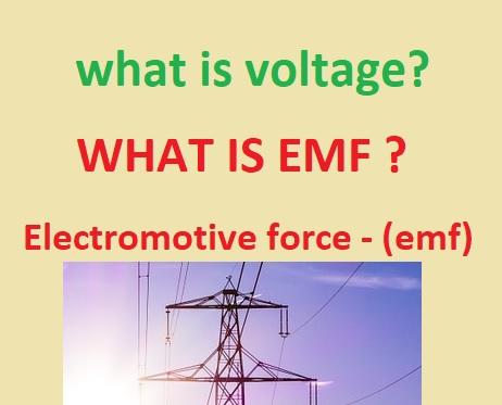 voltage hindi; voltage kya hai; emf kya hota hai