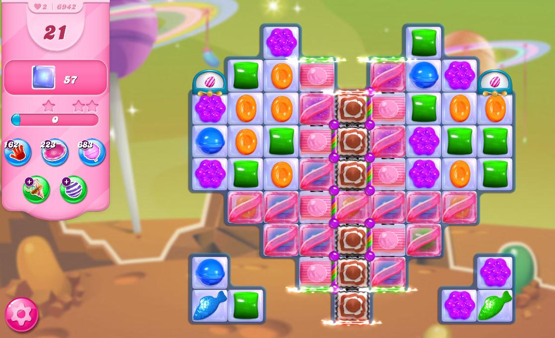 Candy Crush Saga level 6942