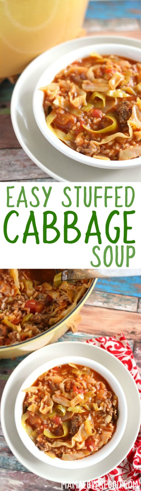 recipe for stuffed cabbage soup