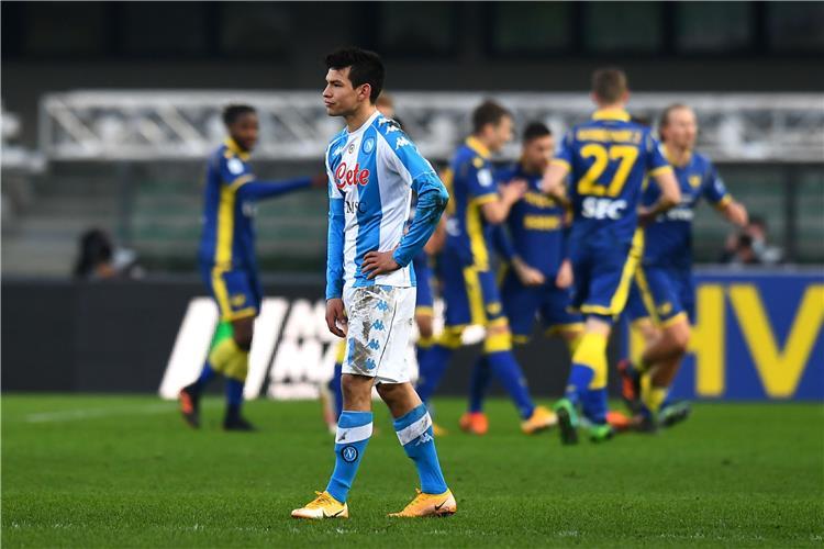 موعد مباراة نابولي وهيلاس فيرونا في الجوله الاخيره الثامنة والثلاثون من الدوري الايطالي