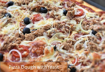 pizza dough recipe with yeast