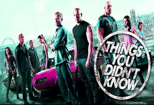 7 Things You Probably Didn't Know About the Fast & the Furious!