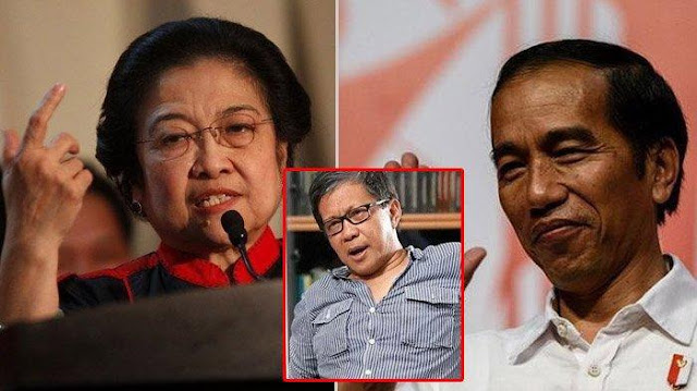 Rocky Gerung Prediksi Jokowi dan Megawati Bakal Pecah Kongsi