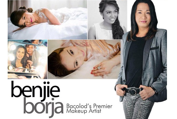 Bridal makeup by Benjie Borja - Bacolod wedding suppliers