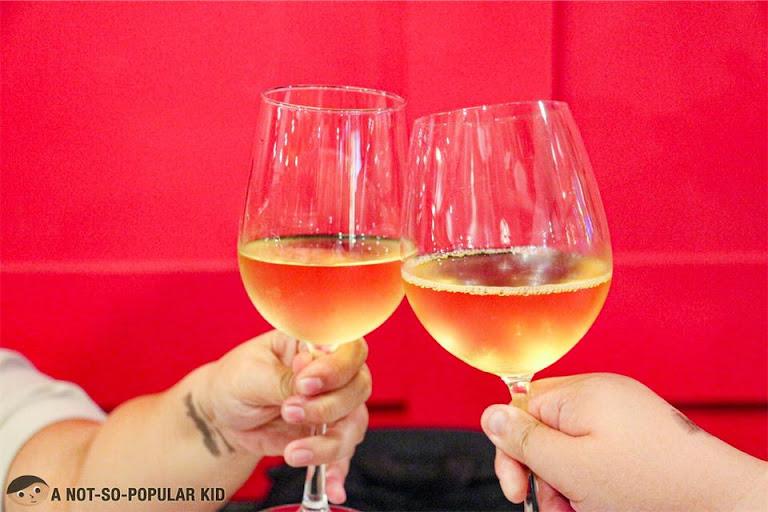 Wine nights in Old Swiss Inn, Makati City