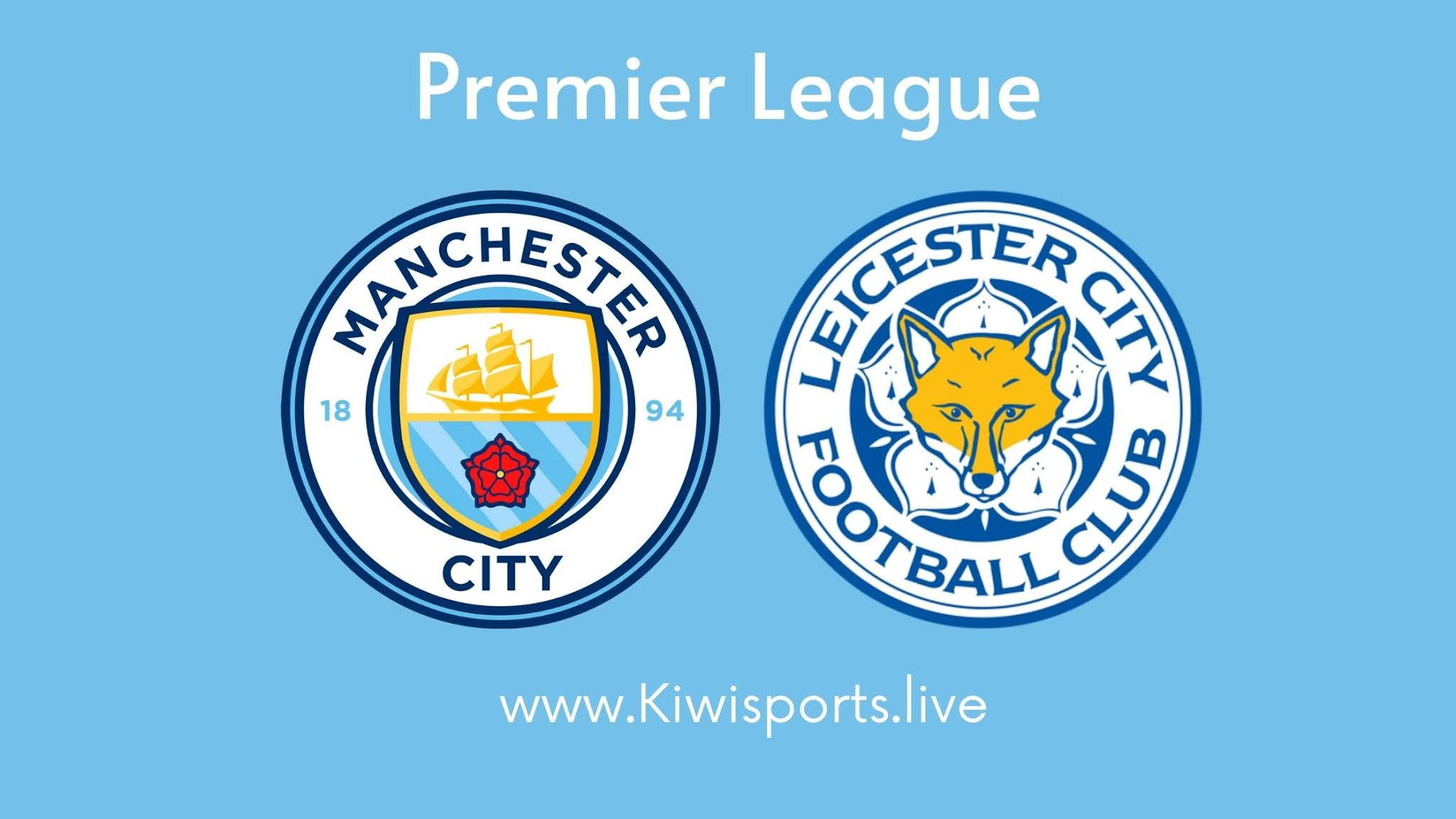 Manchester City vs Leicester City live stream free