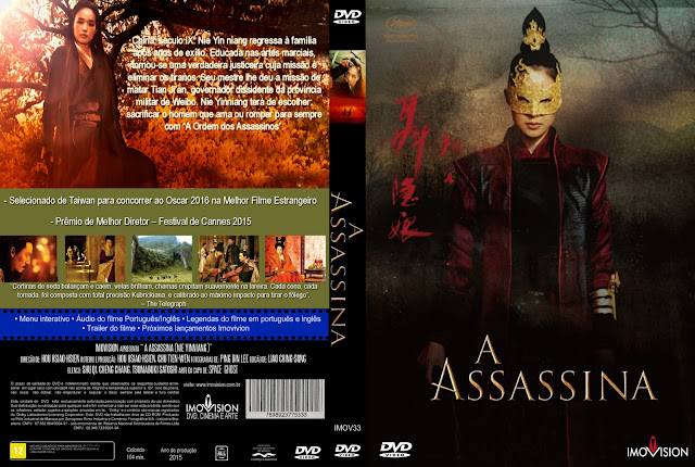 Capa DVD A Assassina