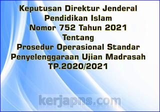 POS Ujian Madrasah 2021