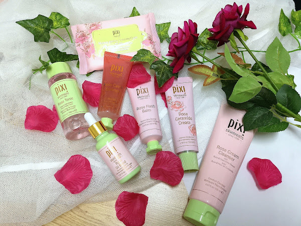 Pixi Rose Infused Products - The cutest travel bag*